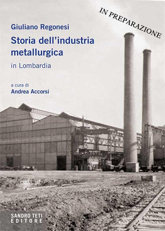 Giuliano Regonesi – Storia dell'industria metallurgica in Lombardia // In preparazione