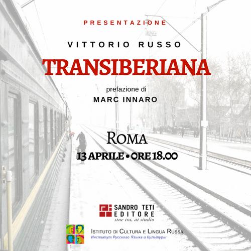 Presentazione del libro Transiberiana a Roma